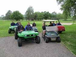 The Greenkeeping Team ready for action